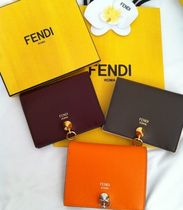 FENDI Leather Folding Wallets