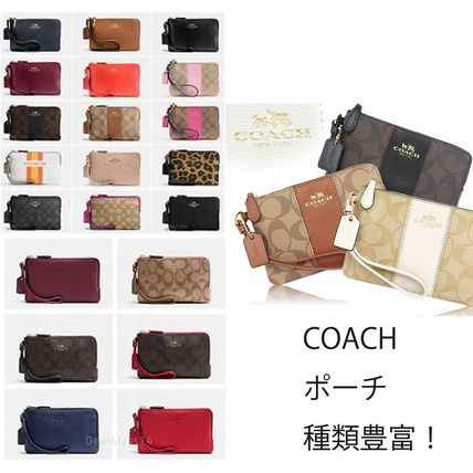 New and large large group Pouch each types plain signature