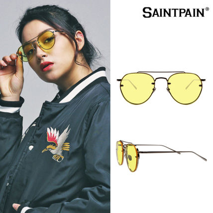 SAINTPAIN Korea popular item SP 17S SG T04 Sunglass YE