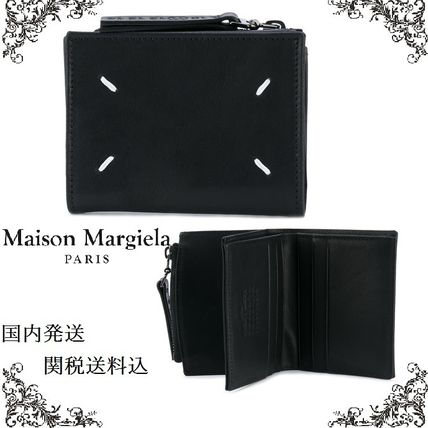 Wallet with Maison Margiela zippers