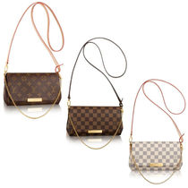 Louis Vuitton MONOGRAM Monogram Leather Elegant Style Shoulder Bags