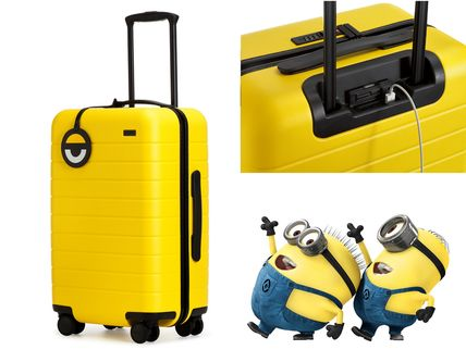 USB / power limited minion's cabin carrying small suitcases