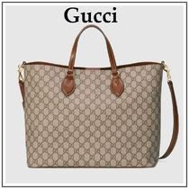 b483df83340 GUCCI Beige Soft GG Supreme Tote With Removable Shoulder Strap