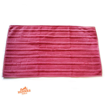 HERMES official Sordo H pattern towel Labyrinthe Rose Tyrien