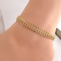 Casual Style Handmade Anklets