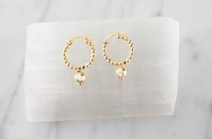 MARIDA 14K Gold Elegant Style Earrings