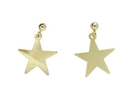 MARIDA Casual Style Silver 14K Gold Earrings