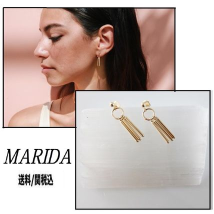 Silver 14K Gold Elegant Style Earrings & Piercings