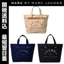 Marc by Marc Jacobs Casual Style Cambus A4 Plain Totes