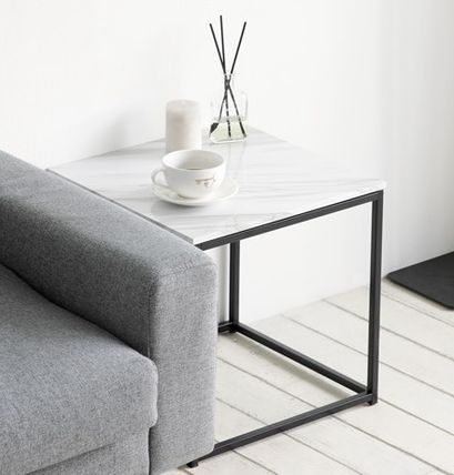Marble pattern of Nordic cube table trendy
