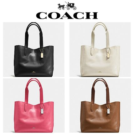 DERBY TOTE IN PEBBLE LEATHER F58660