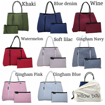 Willow Bay A4 Plain Totes By Flowerland Buyma