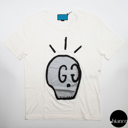 T-shirt GUCCI Ghost Gucci ghost skull GG