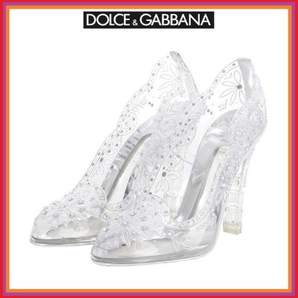 5-10 day delivery Dolce & Gabbana / / women's clear pumps