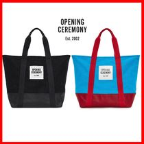OPENING CEREMONY Unisex A4 Totes