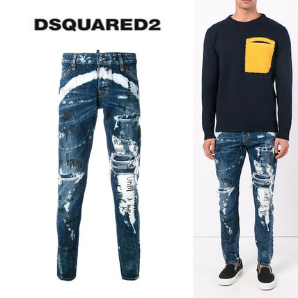 D SQUARED2 Cotton Jeans & Denim
