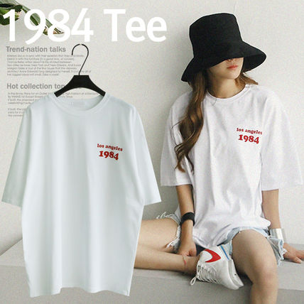 Loose tops ladies logo t shirt ladies 272800830
