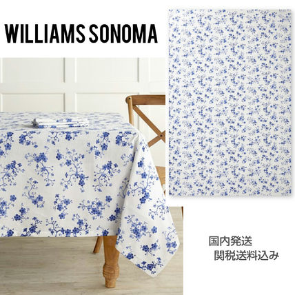 Williams-Sonoma Cherry Blossom table cloth