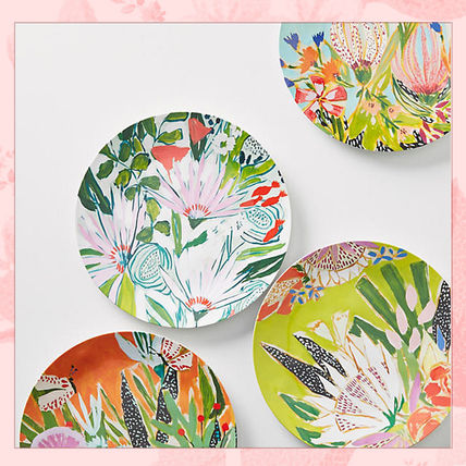 Adorable two sets & accepted pattern of unbreakable dishes