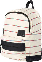 RVCA Stripes Casual Style Unisex Backpacks