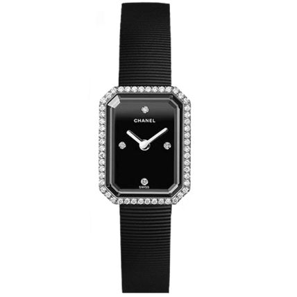 CHANEL PREMIERE Square Quartz Watches Stainless Elegant Style Analog Watches
