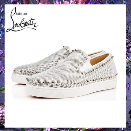 Retail stores buying Christian Louboutin sneakers Pik Boat