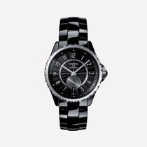 CHANEL J12 Casual Style Round Ceramic Analog Watches