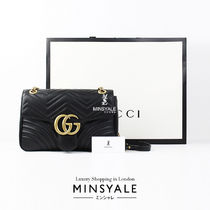 GUCCI GG Marmont matelassé shoulder bag [London department store new item]