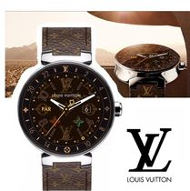 Louis Vuitton MONOGRAM Unisex Digital Watches