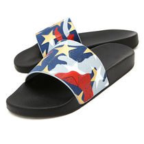 VALENTINO Star Camouflage PVC Clothing Sandals