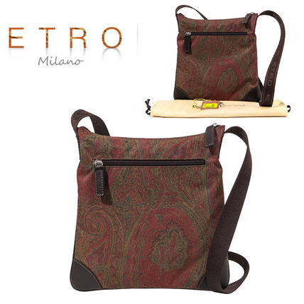 ETRO Nylon Party Style Shoulder Bags