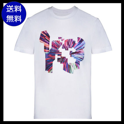 Y-3 COLOR LOGO TEE short sleeve T shirt White
