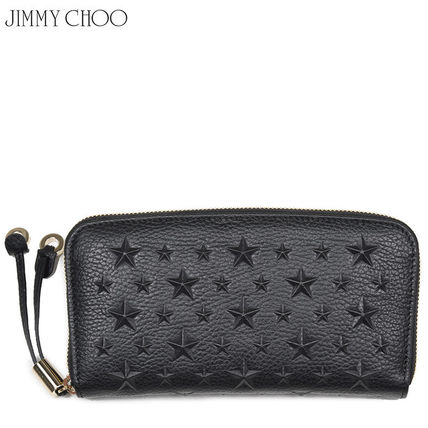 Jimmy Choo FILIPA EMG black star long wallet