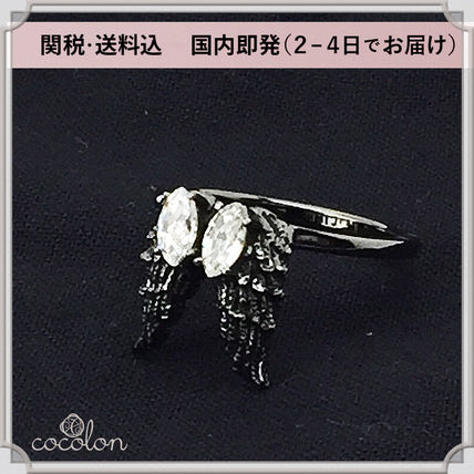 Costume Jewelry Casual Style Platinum Brass Rings