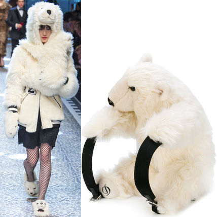 Dolce & Gabbana 17-18 AW DG 1230 LO 33 POLAR BEAR BACKPACK