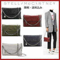Stella McCartney FALABELLA Faux Fur 2WAY Chain Plain Elegant Style Shoulder Bags