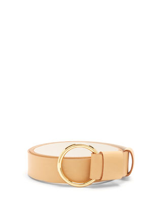 17th SS 50% off SALE Ring-buckle leather belt