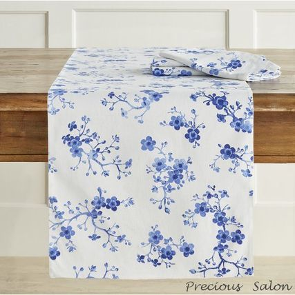 Williams Sonoma cherry blossom runner