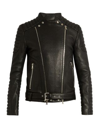 Balman Leather Biker jacket