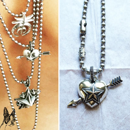 Cody Sanderson Heart and Sheriff Star Pendant with 1 Arrow