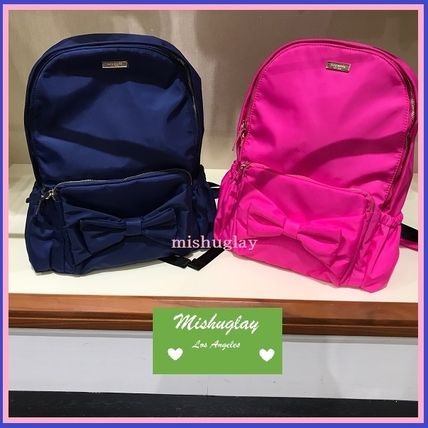 Kate spade backpack with ribbon