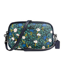 Coach Flower Patterns Casual Style 2WAY PVC Clothing Crossbody