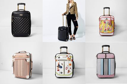 Suitcases available in the cabin 5 types types