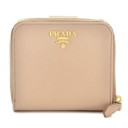 Folding wallet 1ML522 QWA F0770 color CAMMEO-beige