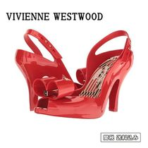 Vivienne Westwood Open Toe Casual Style Plain Peep Toe Pumps & Mules