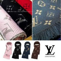 Louis Vuitton MONOGRAM Monogram Wool Scarves