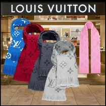Louis Vuitton MONOGRAM LouisVuitton Wool Heavy Scarves & Shawls