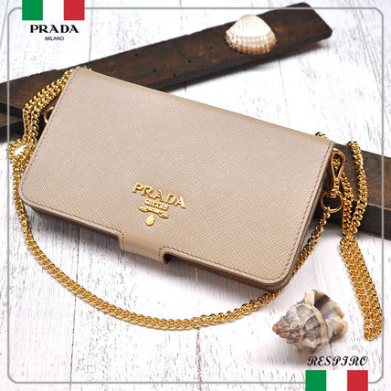 For iPhone 7 SAFFIANO notebook type with cover chain 1 ZH