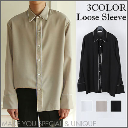 Line chats loose fit long sleeve cool Shaz 3196e