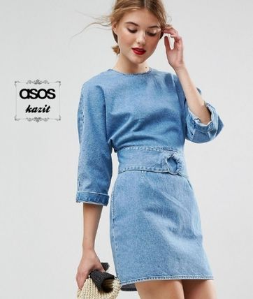 ASOS Casual Style Denim Dresses